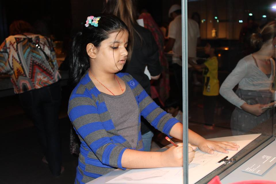 Drawing Workshop In Museum of Islamic Doha...