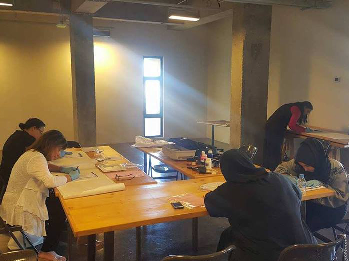 Silk Painting Professional Workshop 6May2017